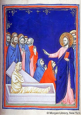 1315_Workshop of Pacino di Bonaguida_Scenes from Life of Christ and the Life of Blessed Gerard of Villamagna _Italian (Florence), 1315-1325_Morgan_MS M643.007r