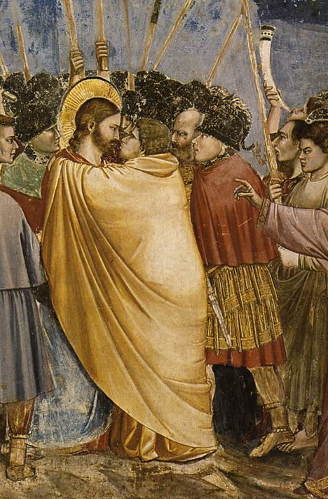 the-arrest-of-christ-kiss-of-judas